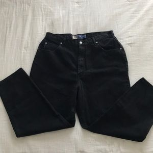 Faded Glory relaxed fit black jeans